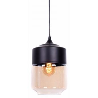 Lampa wisząca loft industrialna czarna astila, Lumina Deco