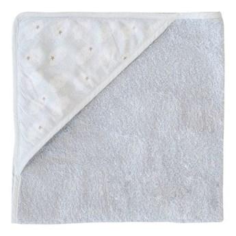 Ręcznik z kapturem + myjka Clouds, Trixie Baby