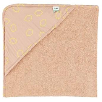 Ręcznik z kapturem Lemon Squash, 75x75 cm, Trixie Baby