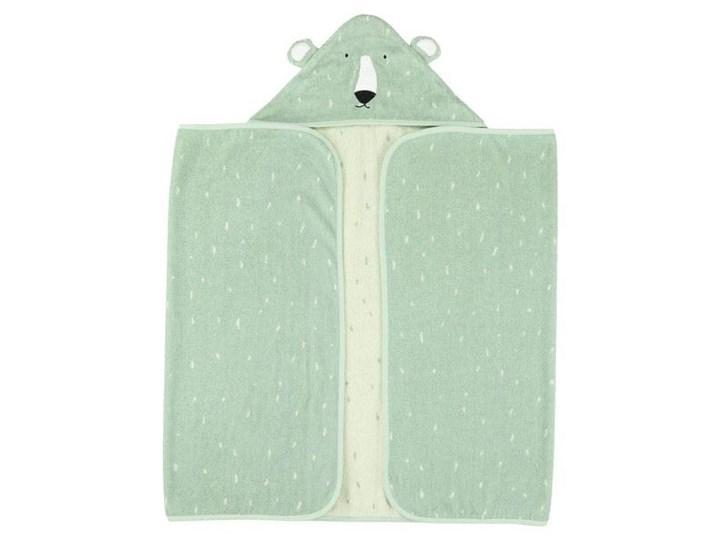Ręcznik z kapturem Mr.Polar Bear 70x130 cm, Trixie Baby Ręcznik z kapturkiem Bawełna Ręcznik kąpielowy Kategoria Ręczniki