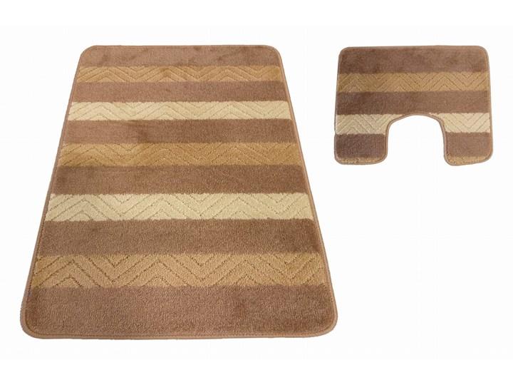 Komplet łazienkowy beżowy Montana 02 40x50 cm 50x80 cm Kategoria Dywaniki łazienkowe