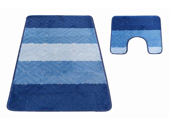 Komplet łazienkowy niebieski Montana 03N 40x50 cm 50x80 cm Kategoria Dywaniki łazienkowe