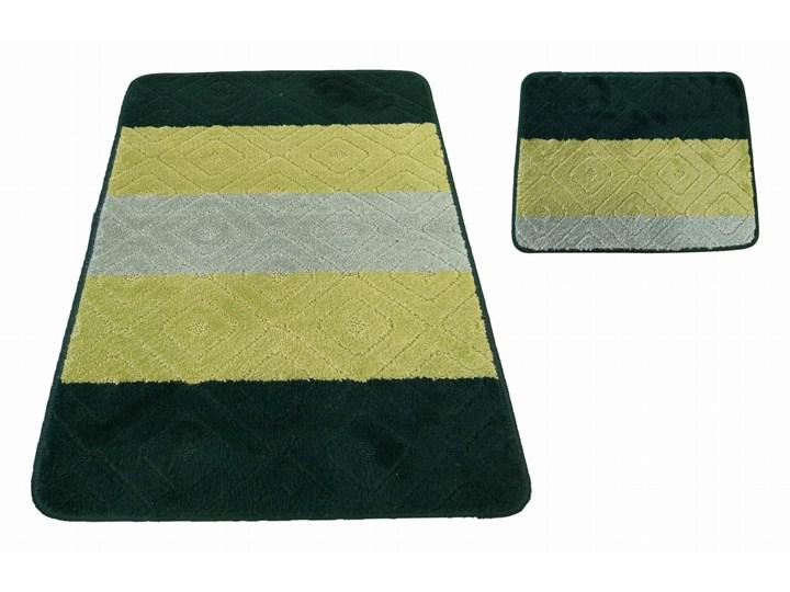 Komplet łazienkowy zielony Montana 03N Kategoria Dywaniki łazienkowe 40x50 cm 50x80 cm Kolor Czarny
