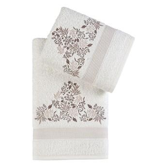Bilge Ręcznik bawełniany frotte ABEL/3664/cream 50x90+70x140 kpl.