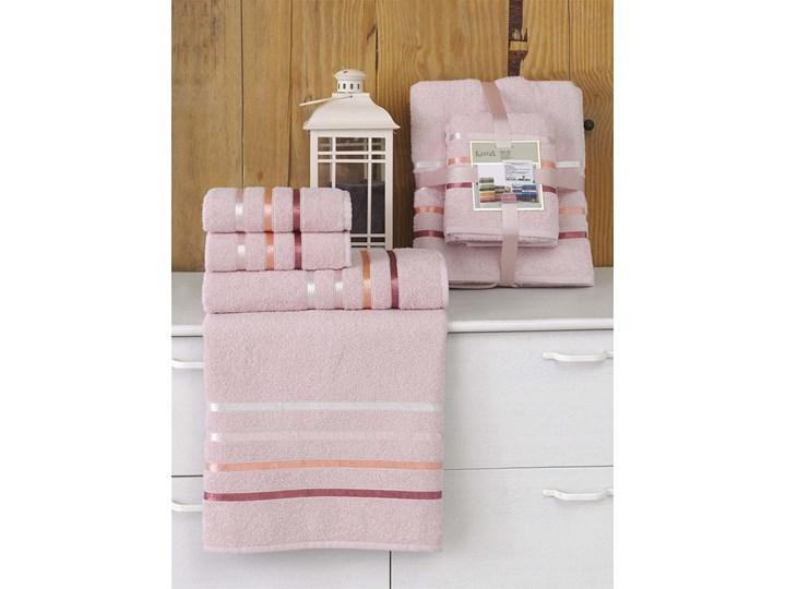 Bilge Ręcznik bawełniany frotte BALE/953/light pink 2x50x80+2x70x140 kpl. 50x80 cm Komplet ręczników Ręcznik kąpielowy Kolor Różowy 70x140 cm Bawełna Kategoria Ręczniki