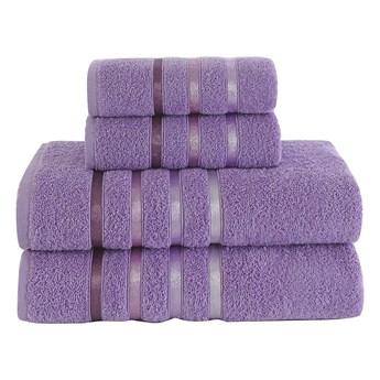 Bilge Ręcznik bawełniany frotte BALE/953/lilac 2x50x80+2x70x140 kpl.
