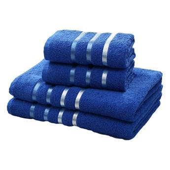 Bilge Ręcznik bawełniany frotte BALE/953/sax blue 2x50x80+2x70x140 kpl.