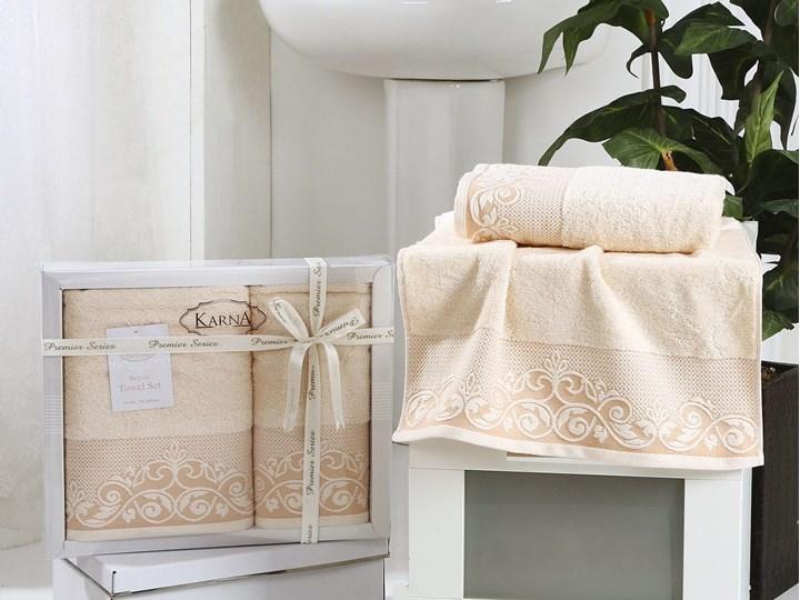 Bilge Ręcznik bawełniany frotte BEYZA/2410/light salmon 50x90+70x140 kpl.