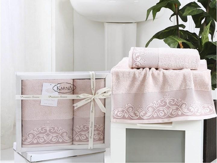 Bilge Ręcznik bawełniany frotte BEYZA/2410/powder 50x90+70x140 kpl. 50x90 cm Bawełna Ręcznik kąpielowy Komplet ręczników 70x140 cm Kategoria Ręczniki