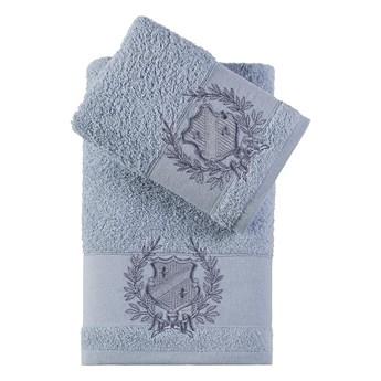 Bilge Ręcznik bawełniany frotte DAVIS/3414/blue 50x90+70x140 kpl.