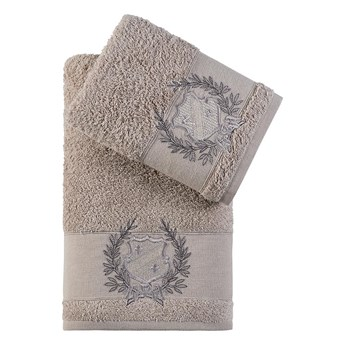 Bilge Ręcznik bawełniany frotte DAVIS/3414/milky brown 50x90+70x140 kpl.