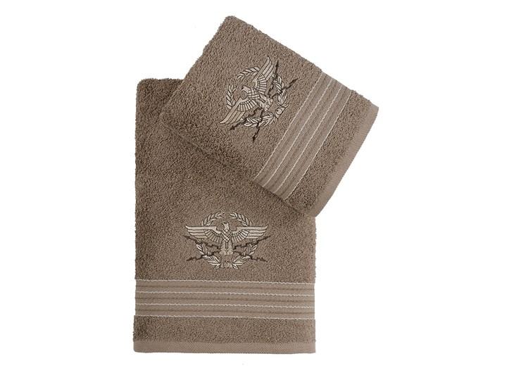 Bilge Ręcznik bawełniany frotte KAVELL/3676/brown 50x90+70x140 kpl. 50x90 cm Ręcznik kąpielowy Kolor Brązowy Bawełna 70x140 cm Komplet ręczników Kategoria Ręczniki