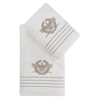 Bilge Ręcznik bawełniany frotte KAVELL/3676/cream 50x90+70x140 kpl.