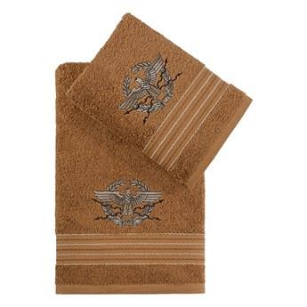Bilge Ręcznik bawełniany frotte KAVELL/3676/mustard 50x90+70x140 kpl.