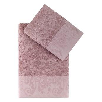 Bilge Ręcznik bawełniany frotte NOVRA/3662/powder 50x90+70x140 kpl.