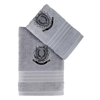 Bilge Ręcznik bawełniany frotte PAMES/3663/light grey 50x90+70x140 kpl.