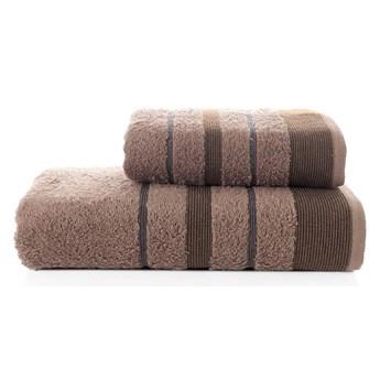 Bilge Ręcznik bawełniany frotte REGAL/3093/brown 50x90+70x140 kpl.