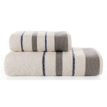 Bilge Ręcznik bawełniany frotte REGAL/3093/cream 50x90+70x140 kpl.