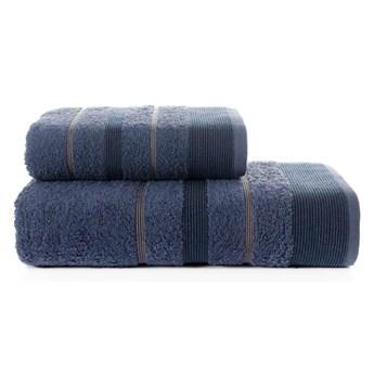 Bilge Ręcznik bawełniany frotte REGAL/3093/dark blue 50x90+70x140 kpl.