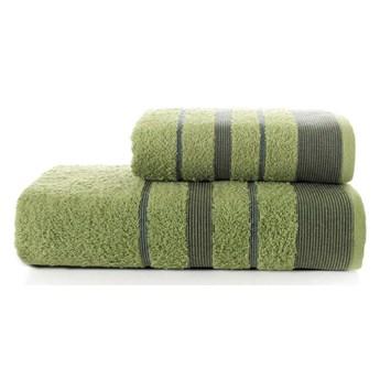 Bilge Ręcznik bawełniany frotte REGAL/3093/green 50x90+70x140 kpl.