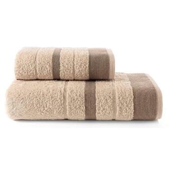 Bilge Ręcznik bawełniany frotte REGAL/3093/milky brown 50x90+70x140 kpl.