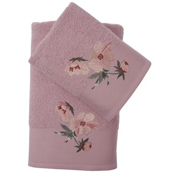 Bilge Ręcznik bawełniany frotte VALDI/3457/light lavender 50x90+70x140 kpl.