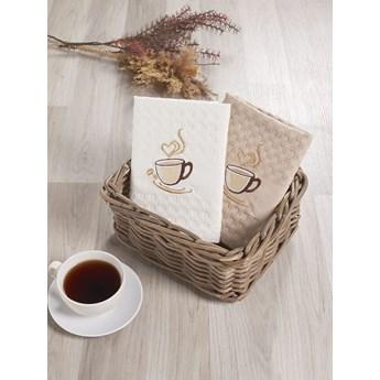 Bilge Ręcznik bawełniany waffle haft SALVA/3477/V3/ 2x45x65 kpl.