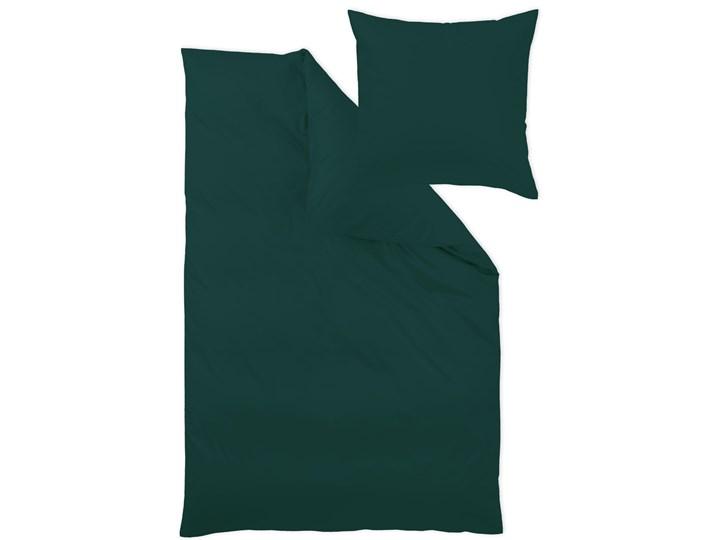 Pościel bawełniana 155x220 cm jednobarwna malachitowa, makosatyna, Curt Bauer