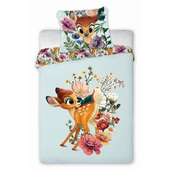 Pościel bawełniana do łóżeczka 100x135 Bambi, Faro