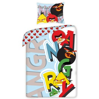 Pościel bawełniana 160x200 Angry Birds, Halantex