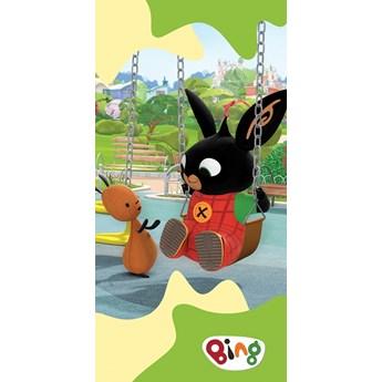 Ręcznik dziecięcy frota 70x140 Królik Bing, Carbotex