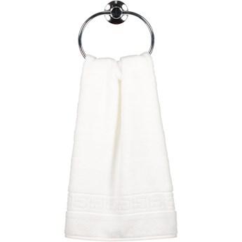 Ręcznik bawełniany 30x50 Noblesse biały, Cawö