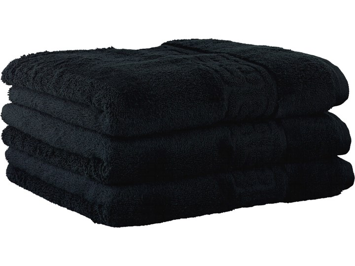 Ręcznik bawełniany 80x160 Noblesse czarny, Cawö