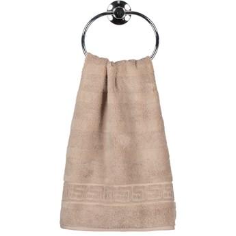 Ręcznik bawełniany 50x100 Noblesse piaskowy, Cawö