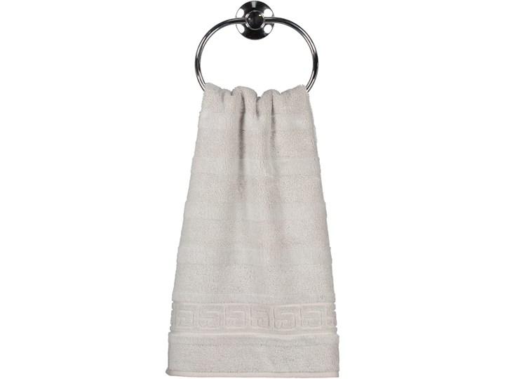 Ręcznik bawełniany 50x100 Noblesse srebrny, Cawö