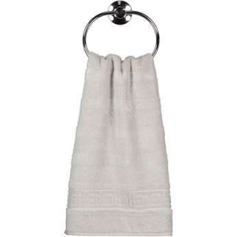 Ręcznik bawełniany 30x50 Noblesse srebrny, Cawö