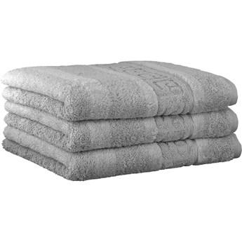 Ręcznik bawełniany 80x160 Noblesse platynowy, Cawö