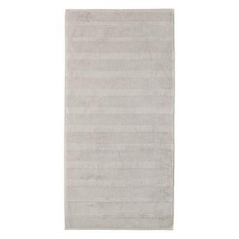 Ręcznik bawełniany 80x160 Noblesse 2 szary, Cawö