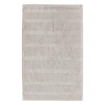 Ręcznik bawełniany 30x50 Noblesse 2 szary, Cawö