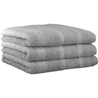 Ręcznik bawełniany 50x100 Noblesse 2 platynowy, Cawö