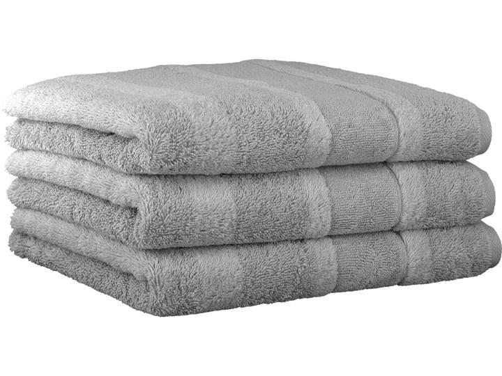 Ręcznik bawełniany 80x160 Noblesse 2 platynowy, Cawö 80x160 cm Bawełna Kategoria Ręczniki