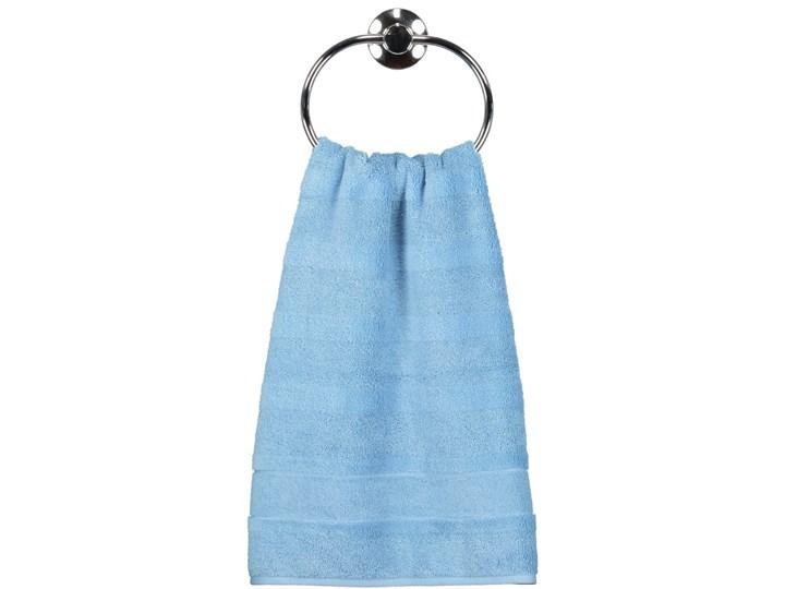 Ręcznik bawełniany 50x100 Noblesse 2 błękitny, Cawö Bawełna 50x100 cm Kolor