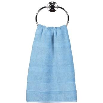 Ręcznik bawełniany 30x50 Noblesse 2 błękitny, Cawö