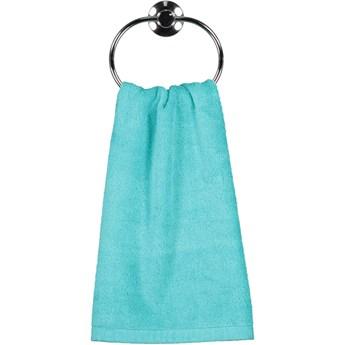 Ręcznik bawełniany 30x50 Life Style turkusowy, Cawö