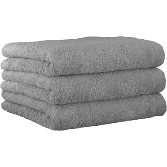 Ręcznik bawełniany 30x50 Life Style platynowy, Cawö