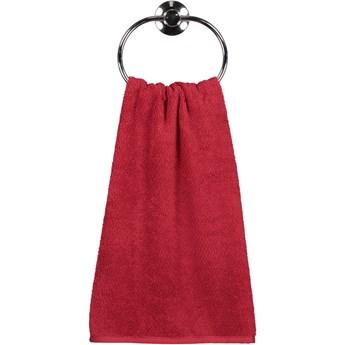 Ręcznik bawełniany 30x50 Heritage bordowy, Cawö