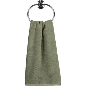 Ręcznik bawełniany 50x100 Heritage ciemnozielony, Cawö