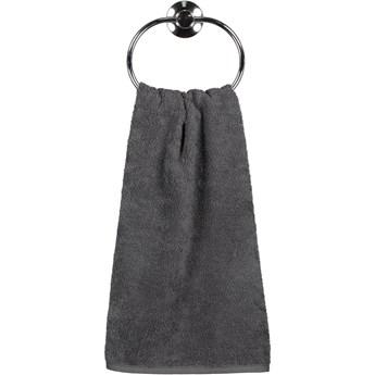 Ręcznik bawełniany 30x50 Heritage antracytowy, Cawö