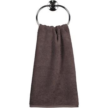 Ręcznik bawełniany 50x100 Heritage brązowy, Cawö