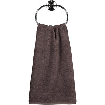 Ręcznik bawełniany 80x150 Heritage brązowy, Cawö